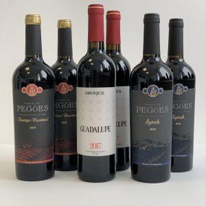 Raudonų portugališkų vynų rinkinys 6 but.